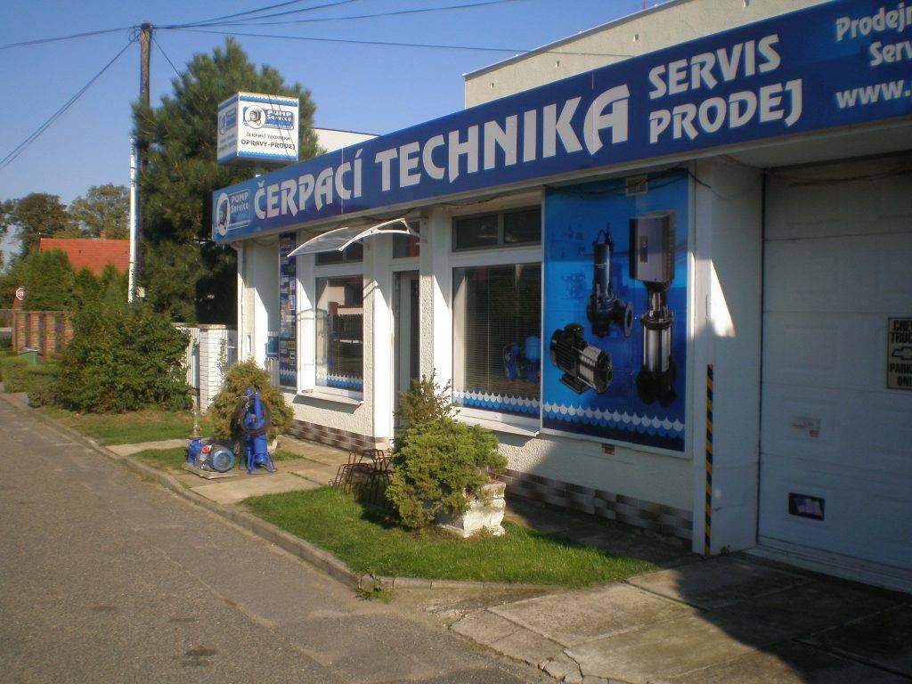 Prodejna - Pump service Trejbal