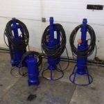 Opravená čerpadla tlaková kanalizace – Loučeň