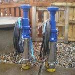 Opravená čerpadla tlakové kanalizace – Tatce